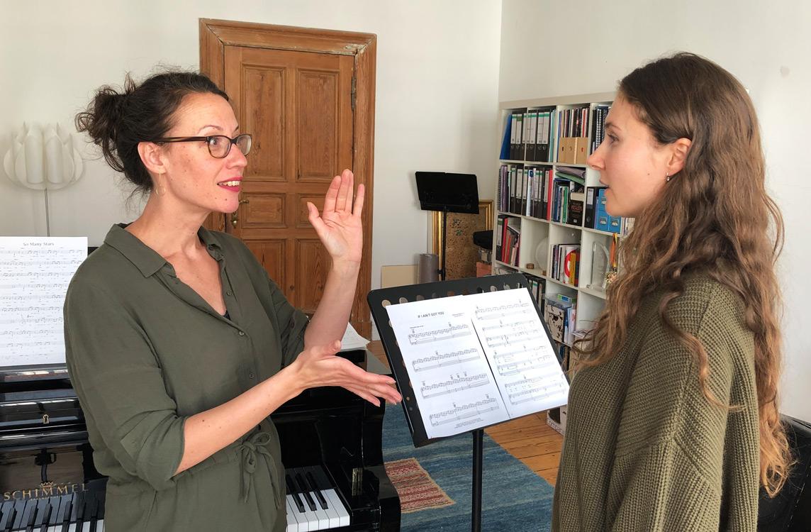 Alice-Köfer-Gesangsunterricht