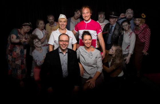 Zombie-Berlin-Familienfoto
