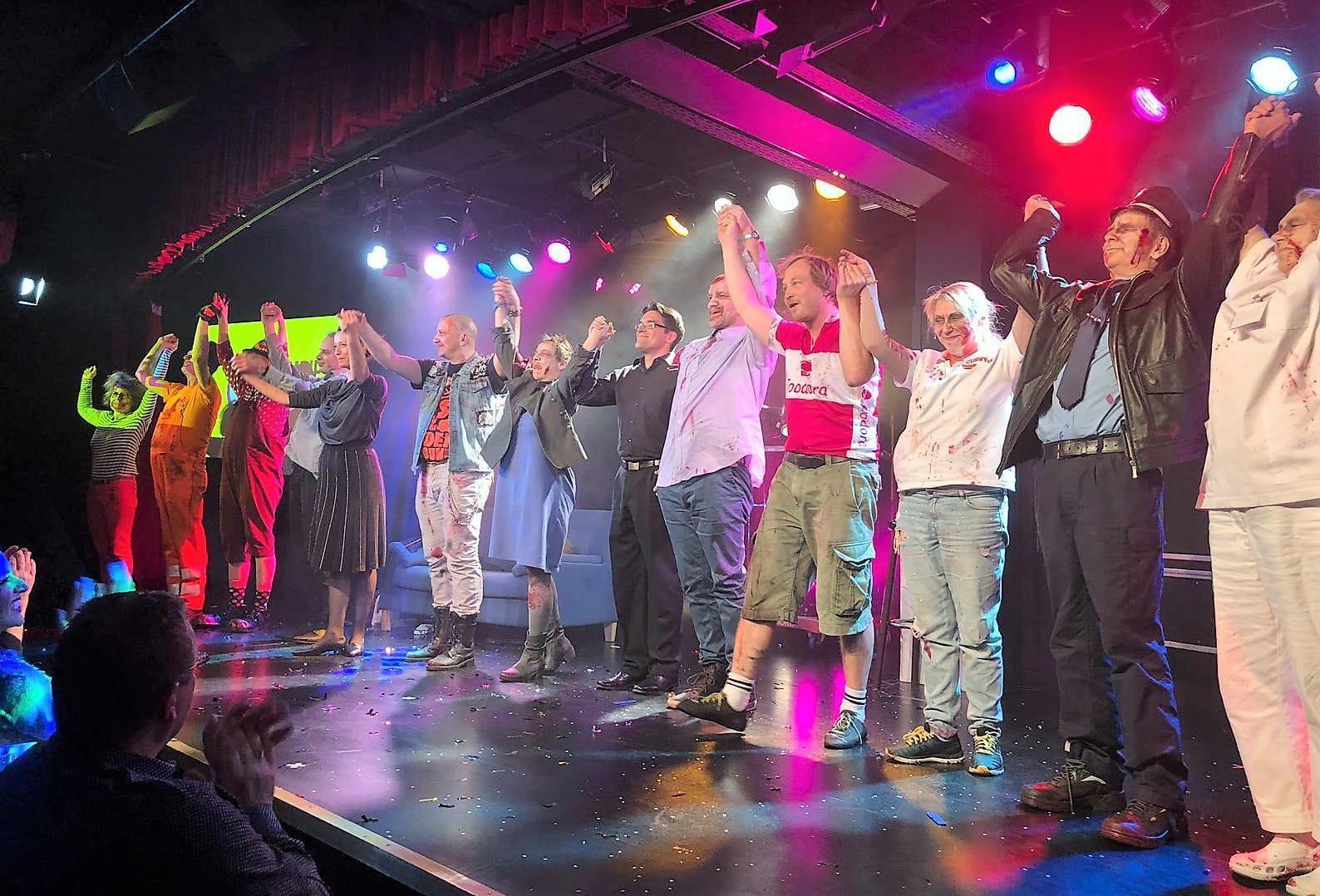 Premiere von Zombie Berlin, BKA-Theater